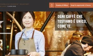 Starbucks assume per lo store di Milano